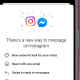 merging Instagram and Messenger chats into one service
